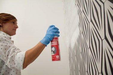 Decoller Du Papier Peint En 1 Heure Sans Decolleuse Ni Galere Decoller Papier Peint Papier Peint Peindre
