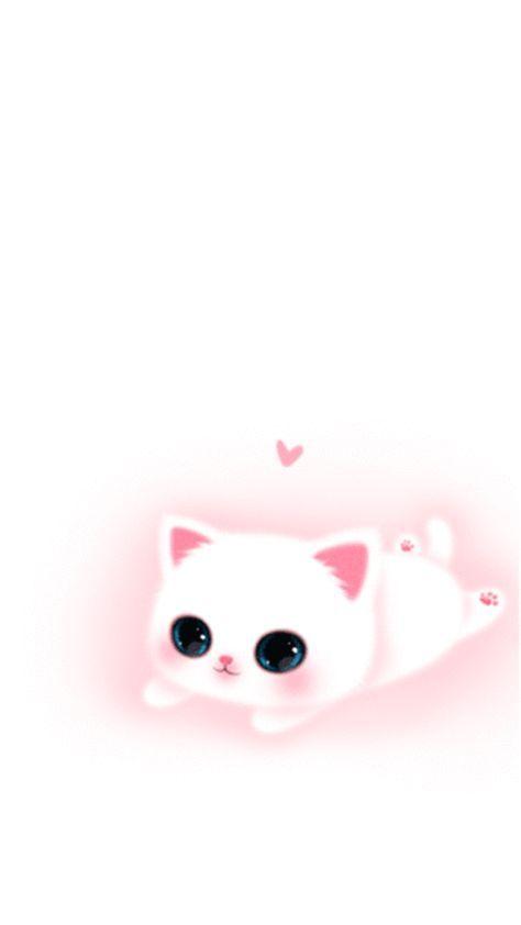 Isabel Pink Xoxo Cute Cartoon Wallpapers Cute Wallpapers Kawaii Cat Drawing