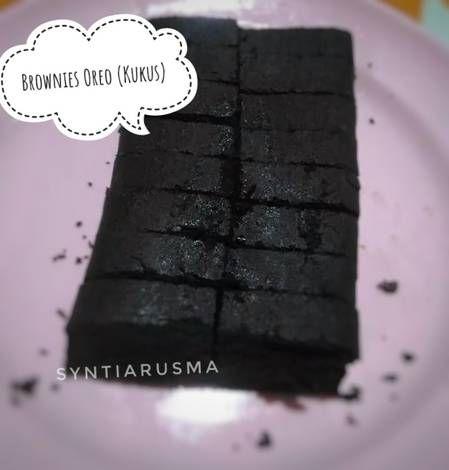 Resep Brownis Oreo Kukus Oleh Syntia Rusmawati U Resep Oreo Kue Oreo Resep