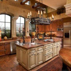 50+ Tuscany Style Italian Kitchen Design Ideas | Kitchen ...