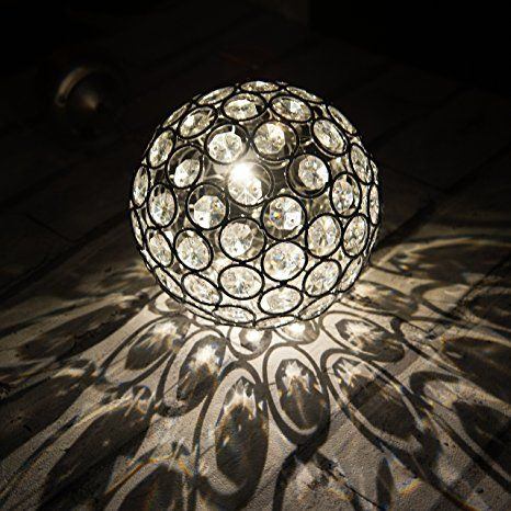 Solar Weihnachtsbeleuchtung Figuren.Solarbetriebene Warmes Weißes Hängend Kugel Licht Wasserfest