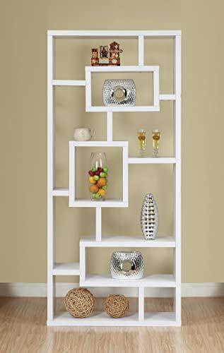 Beautiful Iohomes Mateo Open Back Bookcase White Furniture