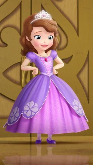 Sofia Looks Beautiful In Her New Dress Sofia The First Cartoon Sofia The First Characters Sofia The First Birthday Party