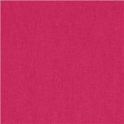 Kaufman Essex Linen Blend Hot Pink on Fabric.com; $6.98/yard