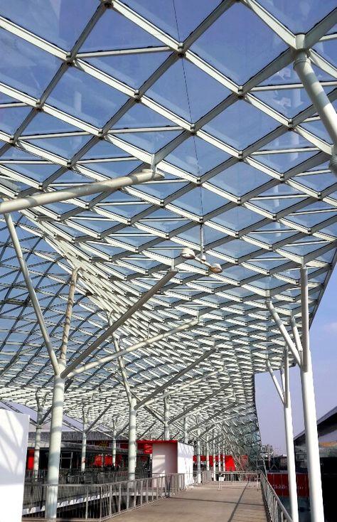 M 3 Milano Fiera Milan Arquitectura Contemporánea