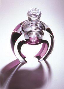 Horseshoe perfume bottle