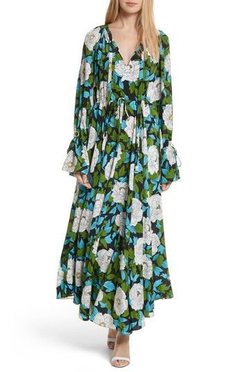 aac6490cd2d98 Free shipping and returns on Diane von Furstenberg Floral Silk Maxi ...