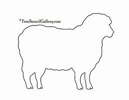 image about Printable Sheep Pattern identified as Picture final result for Absolutely free Printable Sheep Habit Dickey Farms
