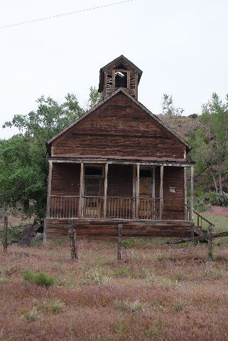 ~one room school house near New Castle, Colorado on Peachtree Road~