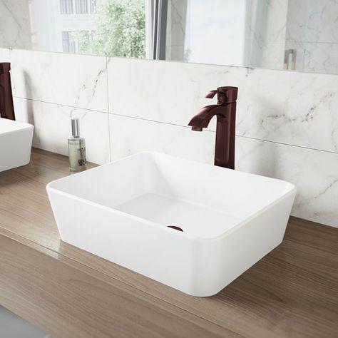Vigo Otis Vessel Bathroom Faucet
