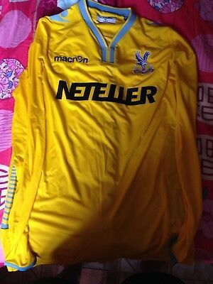Details About Brand New Without Tags Crystal Palace 2014 Macron Away Shirt Size Xl In 2020 Shirts Large Shirts Fan Apparel