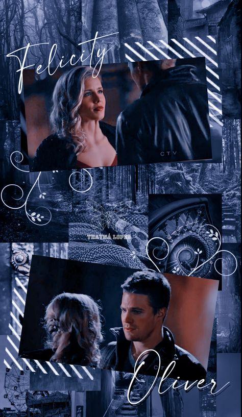 ▩⃝⃟'⚘Wallpaper/Aesthetic Felicity e Oliver - Arrow