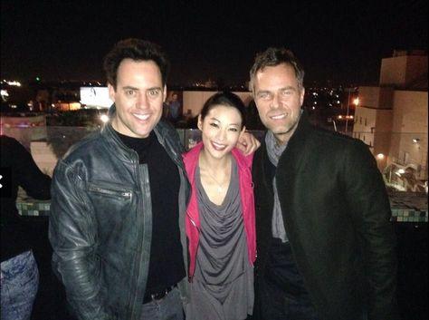 Orny Adams, Arden Cho & JR Bourne