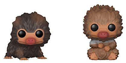 Amazon Com Funko Pop Movies Fantastic Beasts 2 Crimes Of Grindelwald Baby Niffler Brown And Tan 2 Pack Toys Games Fantastic Beasts 2 Fantastic Beasts Toys