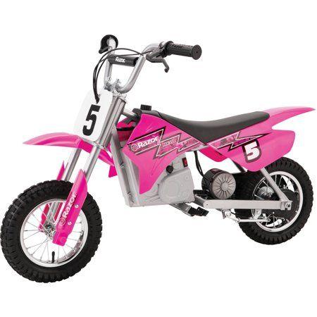 Razor Mx350 24v Dirt Rocket Electric Ride On Motocross Bike Pink Walmart Com In 2020 Motocross Bikes Motocross Bike Experience