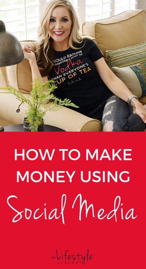 How to make money using social media. The best social media tips for making money. #socialmediamarketing #socialmedia #socialmediatips #makemoneyonline #howtomakemoneyonline
