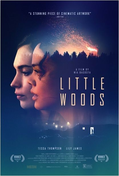 Tessa Thompson And Lily James In Little Woods 2018 Lily James Tessa Thompson Good Movies