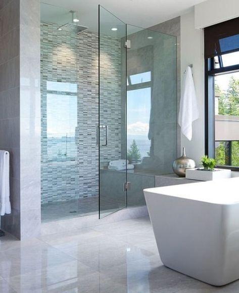 Relooker une salle de bain, 42 idées en photos! | Bath room | Bagno