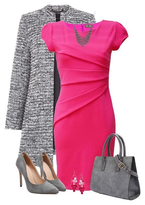 Pink dress and grey coat outfit idea for winter Smart casual outfits for winter Smart Casual Outfit, Casual Winter Outfits, Classy Outfits, Chic Outfits, Dress Outfits, Fashion Dresses, Woman Outfits, Mantel Outfit, Elegantes Outfit