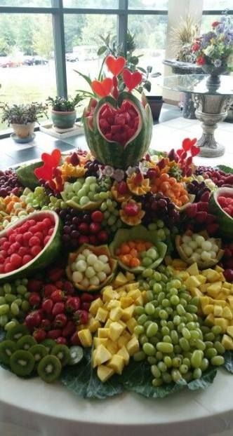 Best Fruit Display Wedding Edible Arrangements 50 Ideas Fruit Display Wedding Veggie Display Fruit Buffet