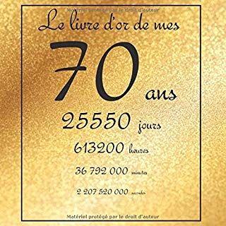 Amazon Fr Cadeau Anniversaire Homme 70 Ans 2 Toiles Plus Cadeau Homme 70 Ans Livre D Or Livre Pdf Gratuit