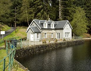The Old Smiddy Cottage Stronachlachar Loch Katrine Lomond Scotland Self Catering Holiday