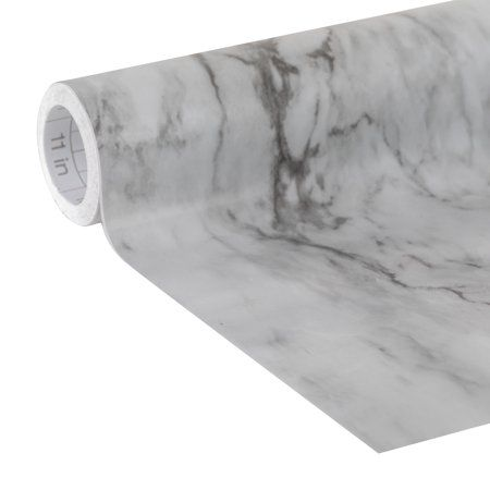 Home Shelf Liner Grey Marble Adhesive