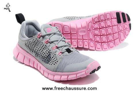 Softer Running Basket Nike Femme Running Air Max Rose Gris