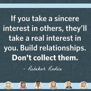 We love this quote by @rebekahradice! Make time for people this week. When you invest in others, they'll invest in you.  #MondayMotivation #smallbusiness #socialmedia #marketing