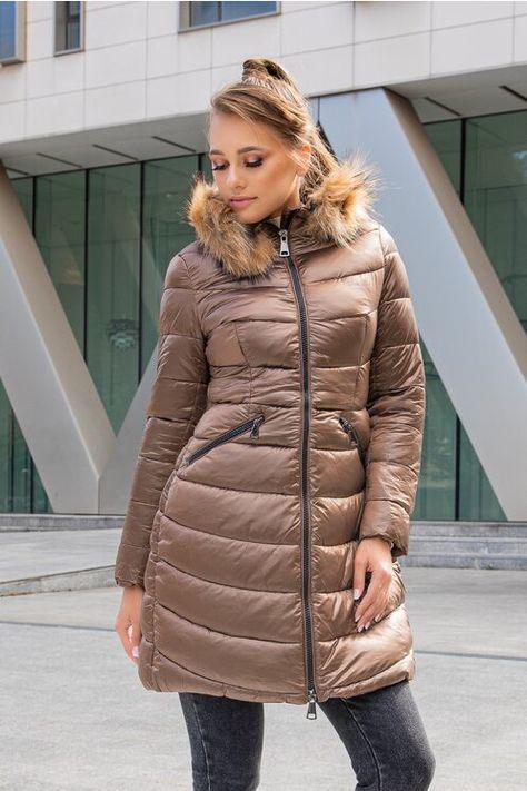 Cauta? i jacheta lunga de femeie