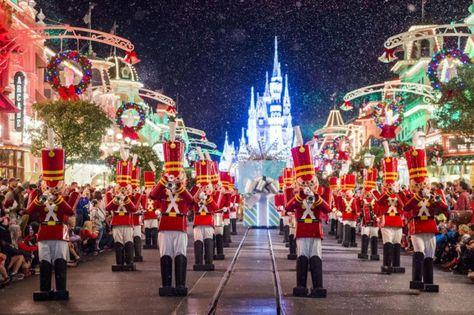 Image De Noel Walt Disney.Photos Villes Du Monde 3 La Feerie De Noel A Walt Disney