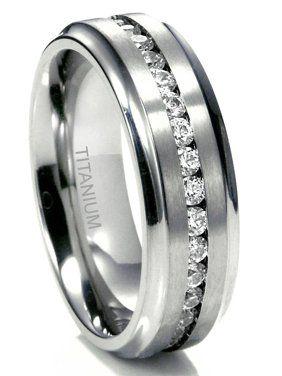 Wedding Ring Walmart Jewelry In 2020 Titanium Wedding Rings Titanium Rings For Men Mens Wedding Rings