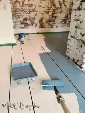 Diy Tutorial On How To Paint Wood Floors With Detailed