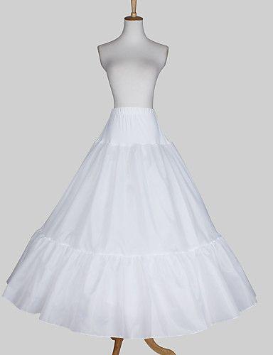 Polyester A Line Medium Fullness Full Length Wedding Slip Style Petticoat Usd 19 49 Petticoat Wedding Floor Length