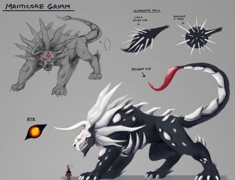 RWBY Grimm - Silvertooth Ravager (Commission)