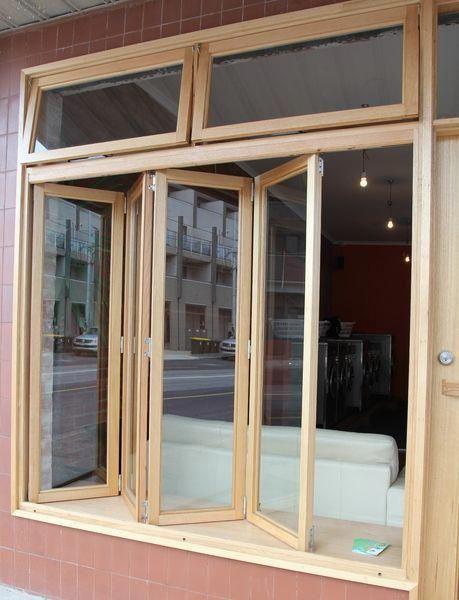 Bifold Windows With Ventilation Awning Windows Above M Highcraftwindows Com Au Pergolavsarbor Kitchen Window Design Door Design Modern Updating House