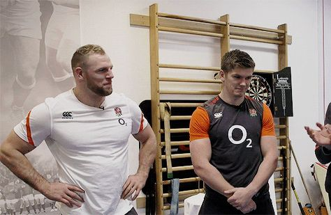 James Haskell and Owen