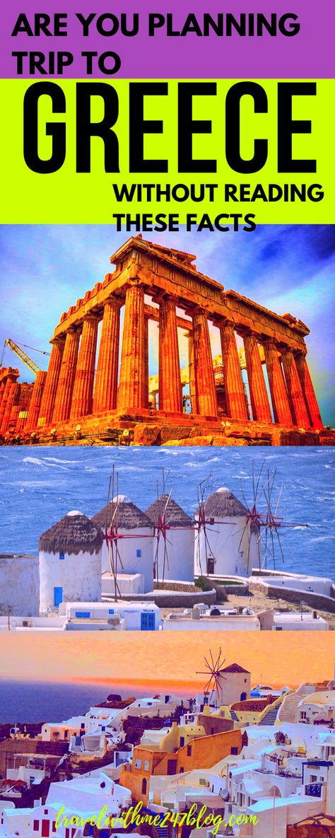 Are you planning a trip to Greece this summer?