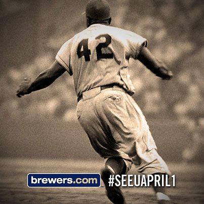 Just 42 Days Until Brewers Opening Day Seeuapril1 Brewers Baseball Sports