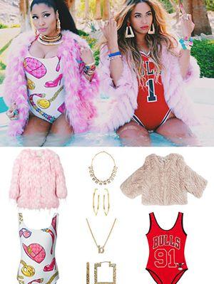sc 1 st  Pinterest & Nicki and Beyonce | Nicki minaj ? | Pinterest | Nicki minaj and Girly