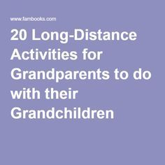 grandchildren quotes 20 Long-Distance Activities for Grandparents to do with their Grandchildren 20 Long-Distance Activities for Grandparents to do with their Quotes For Kids, Family Quotes, Quotes Children, Grandchildren, Grandkids, Toddler Activities, Activities For Kids, Grandma Quotes, Cousin Quotes