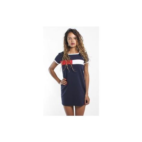 Since a couple years ago, Tommy Hilfiger has definitely stepped up their game. This cute dress stops above the knee without taking away from the vintage aspect. Affordable too(: {Vintage Tommy Hilfiger Dress}
