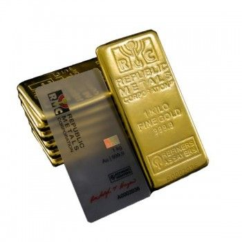 Shop Gold Bars For Sell 1 Kilo Or Kg Republic Metals Gold Bar 2020