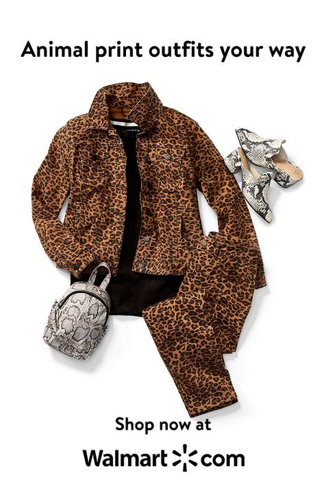 Animal print outfit your way