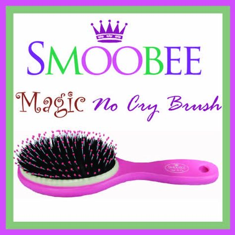 New Age Mama: Smoobee No Cry Hairbrush Review & Giveaway