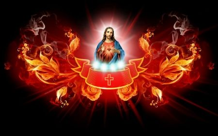 Sacred Heart Of Jesus Desktop Nexus Wallpapers Heart Of Jesus Jesus Cross Wallpaper Jesus Sacred heart wallpaper hd download
