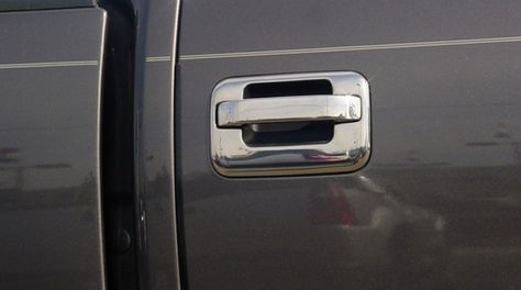 Chrome Door Handle Covers Ford F150 And Ford Escape Door Handle Covers