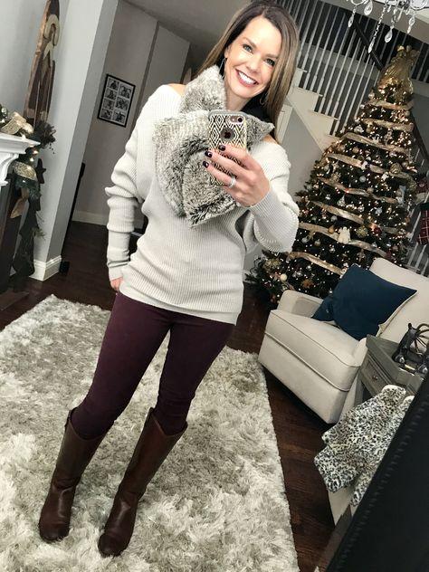 decc2bcd41b222 List of Pinterest holliday outfits women christmas casual scarfs ...
