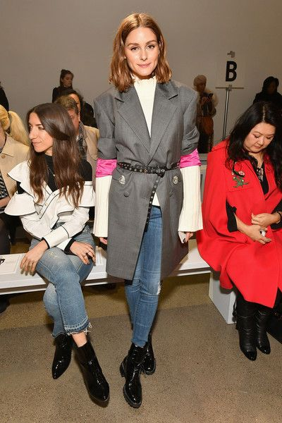 Olivia Palermo attends the Taoray Wang fashion show during New York Fashion Week: The Shows.
