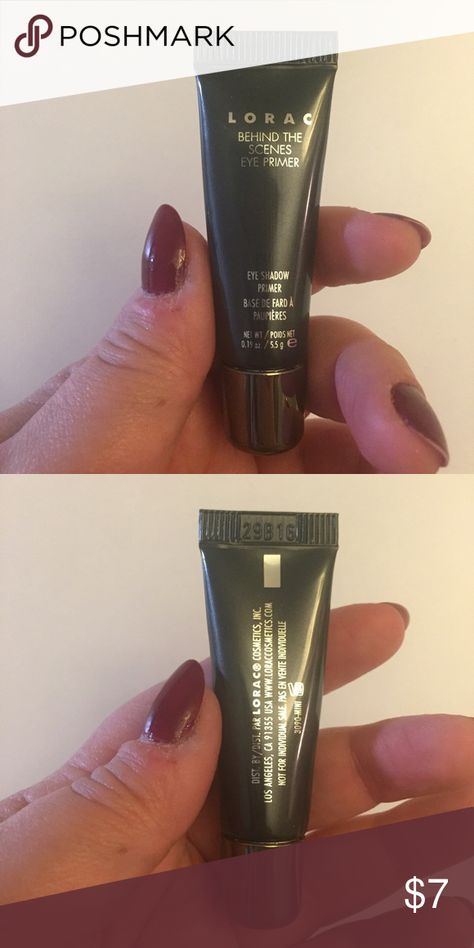 Lorac Eyeshadow Primer - Never used or Opened Lorac Eyeshadow Primer - Never used or Opened - Travel Size - I already have 3 and just don't need it. Lorac Makeup Eye Primer